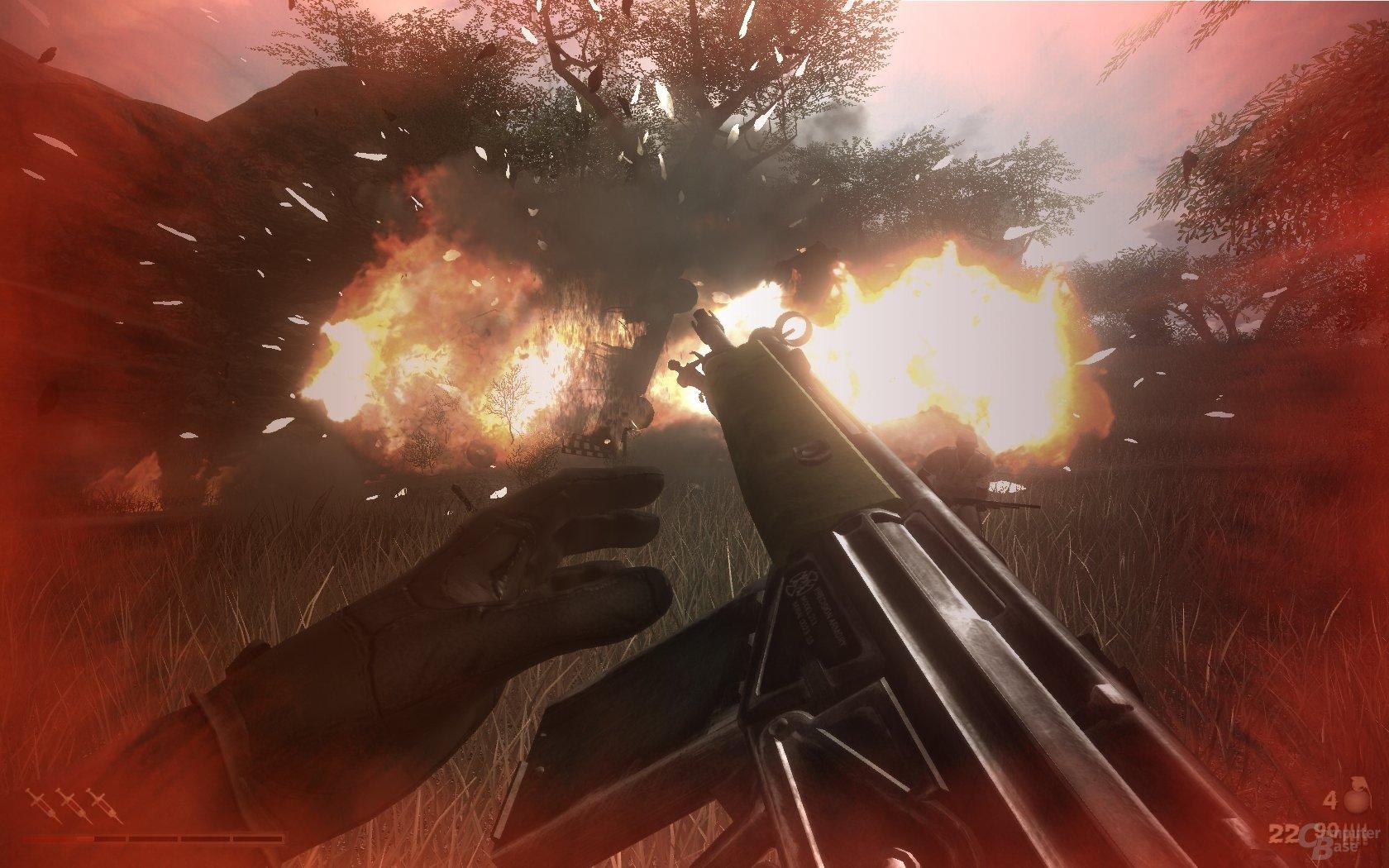 Far Cry 2 - Explosion