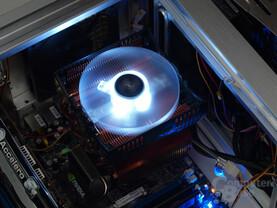 Weiße LED-Beleuchtung des Lüfters