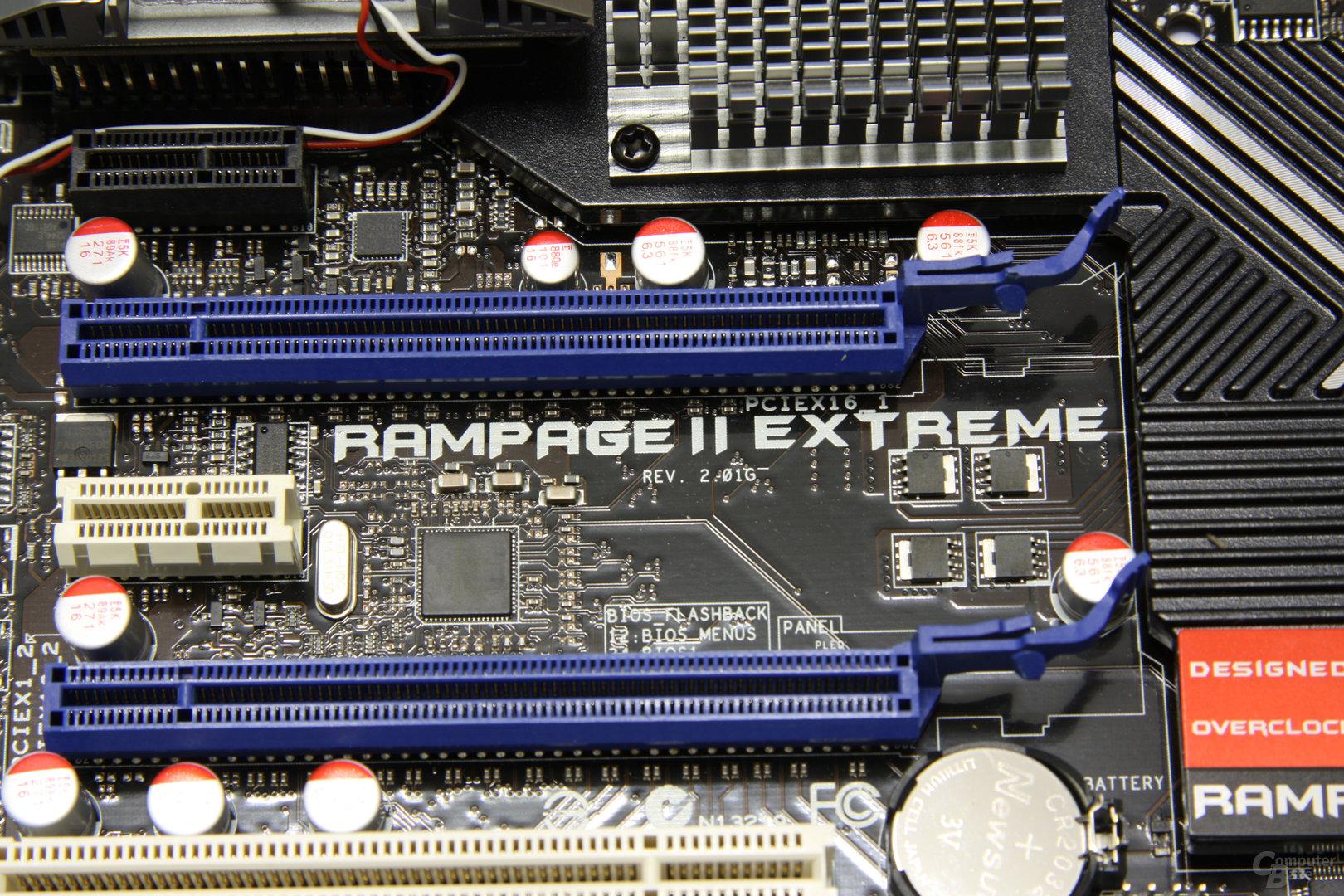 Rampage 2 Extreme Schriftzug