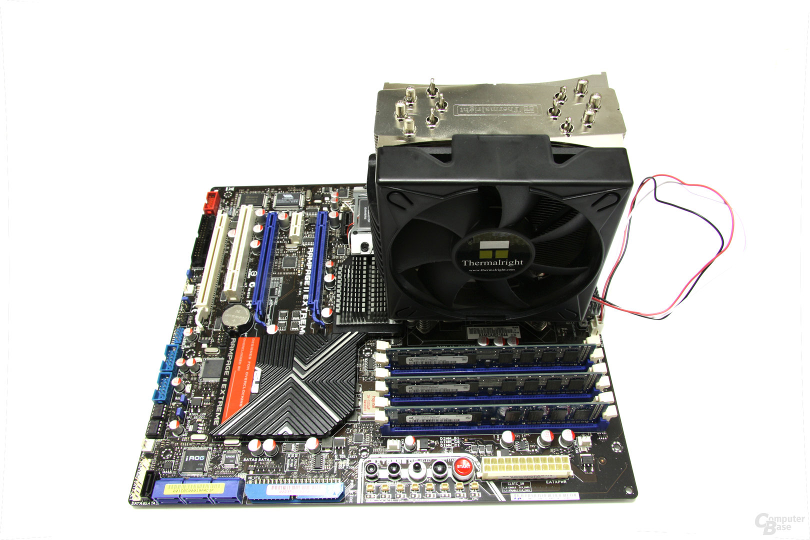Rampage 2 Extreme mit CPU