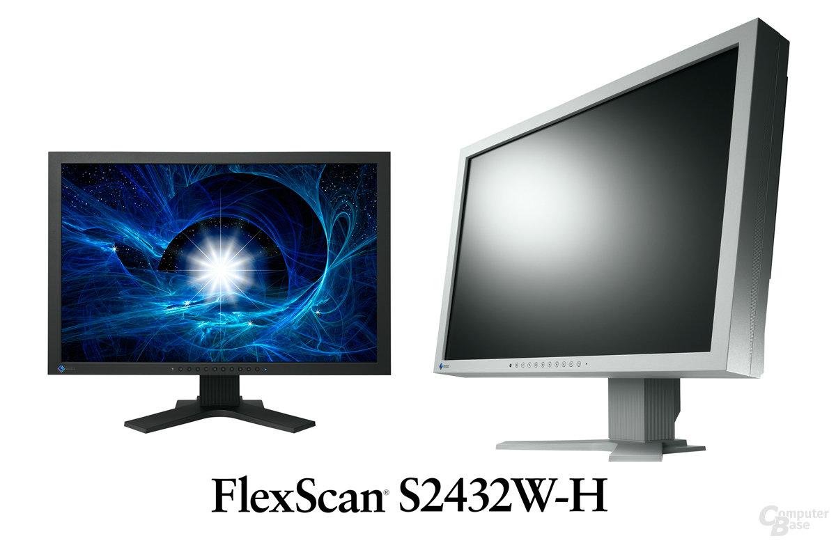 Eizo FlexScan 2432W-H mit Displayport
