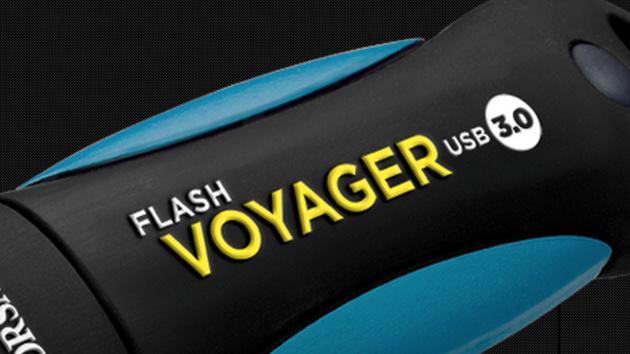 Corsair Flash Voyager 64 GB im Test: Doppelt so viel schneller Speicher