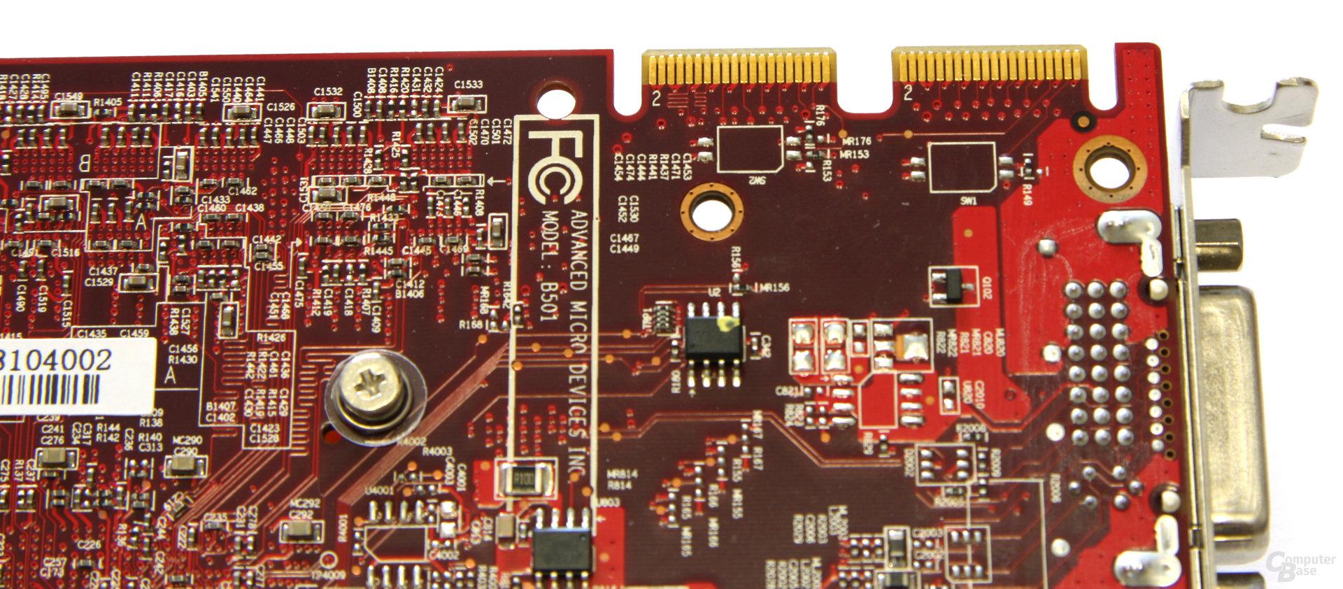 Radeon HD 4850 PCS+ CF-Anschlüsse