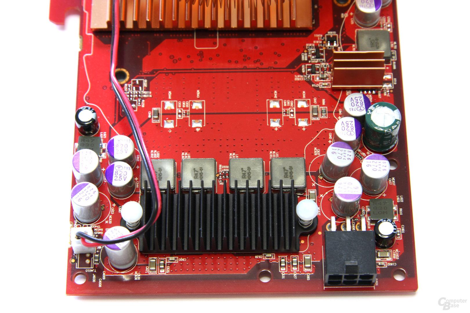 Radeon HD 4850 PCS+ Spannungswandler