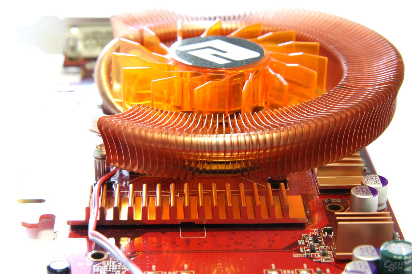 Radeon HD 4850 PCS+ Speicherkühlung