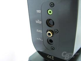 Anschlüsse GigaWorks T40 Series II