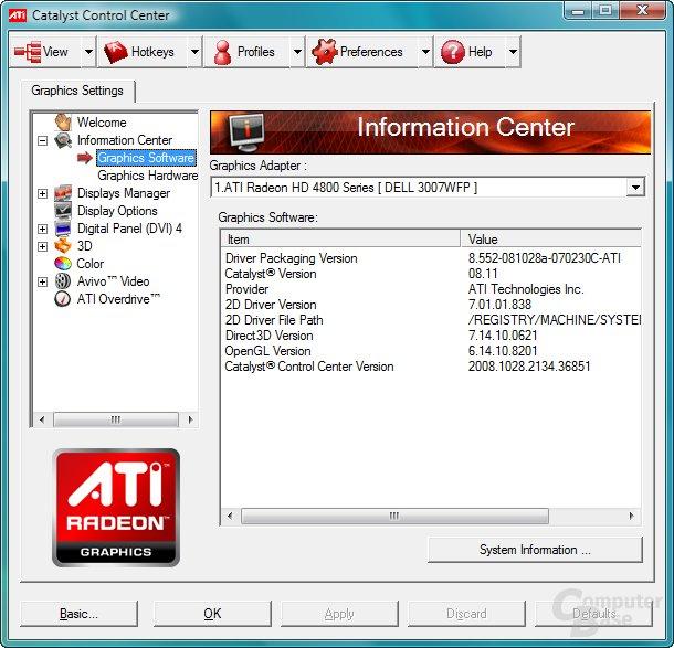 ATi Catalyst 8.11