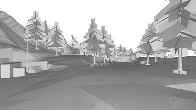 Quake Wars: Raytraced ohne Texturen