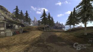 Quake Wars: Raytraced mit Texturen (beleuchtet)