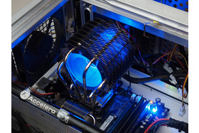 Thermaltake SpinQ in Betrieb