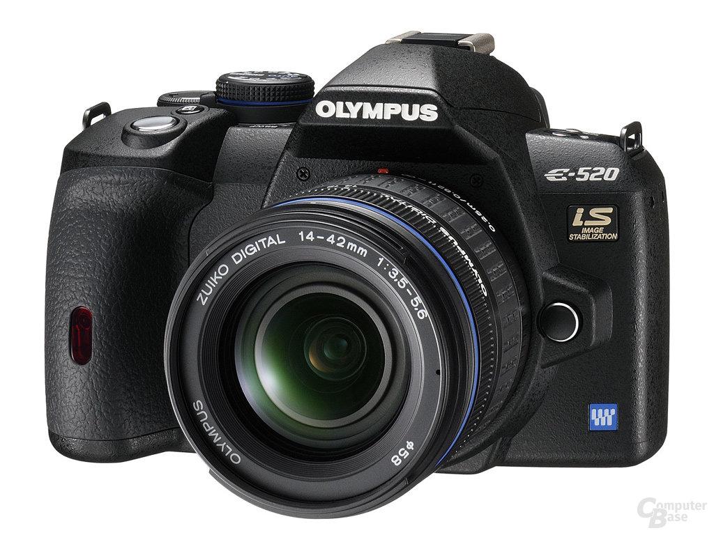 Olympus E-520 Digitale Spiegelreflexkamera