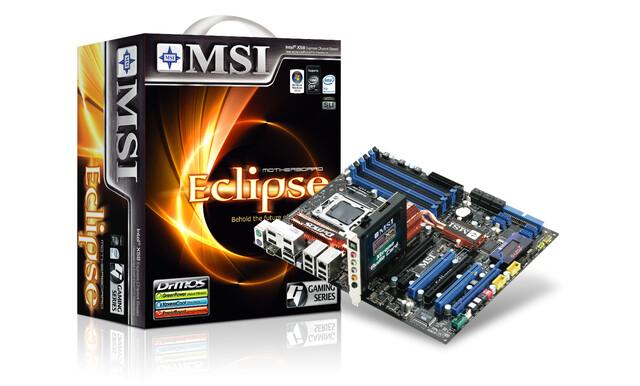 MSI Eclipse SLI