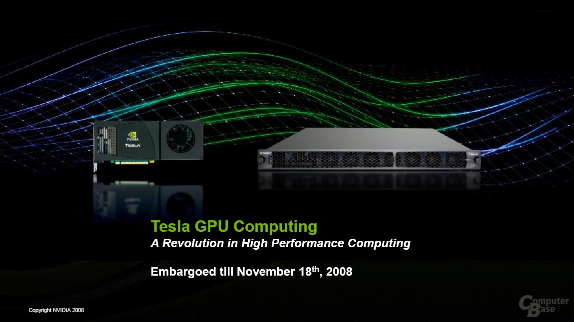 Nvidia Tesla Personal Supercomputer