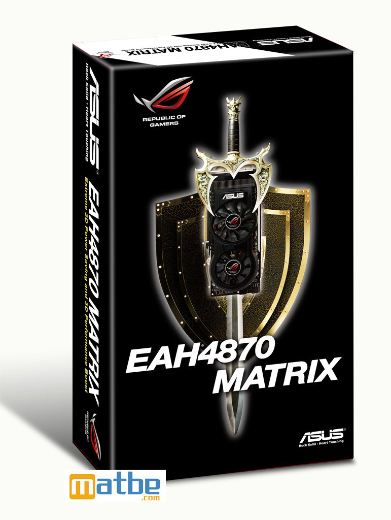 Asus EAH4870 Matrix/HTDI/512M