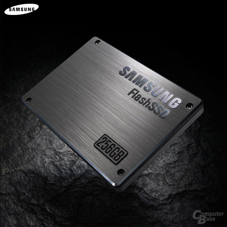 Solid-State-Laufwerk mit 256 GB von Samsung