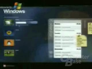Windows Anmeldeschirm Prototyp