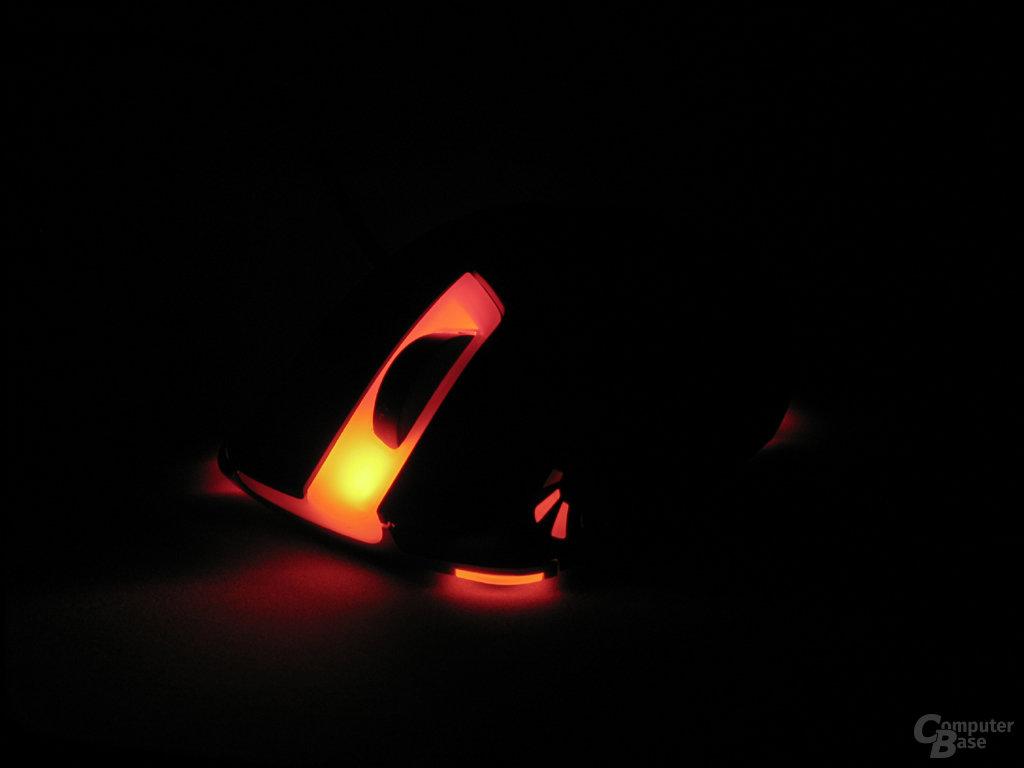 Slider X 600: Rot beleuchtet und DPI-Mid