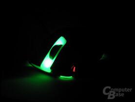 Slider X 600: Grün beleuchtet und DPI-Low