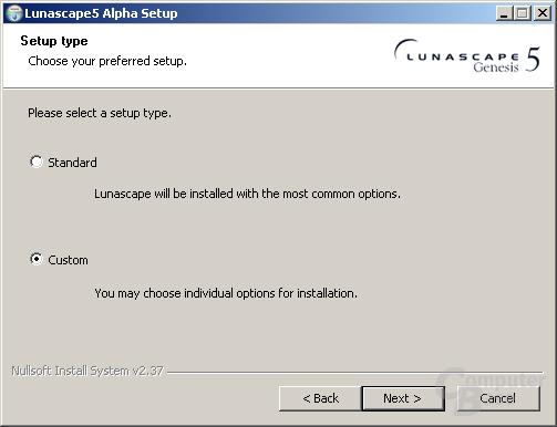 Lunascape 5 Alpha 3 – Installation