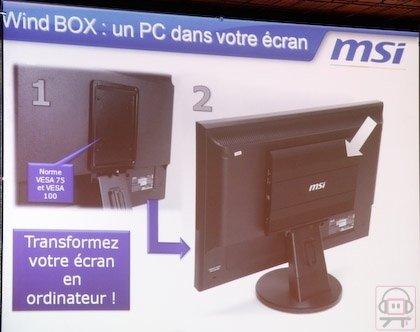 MSI Wind Box