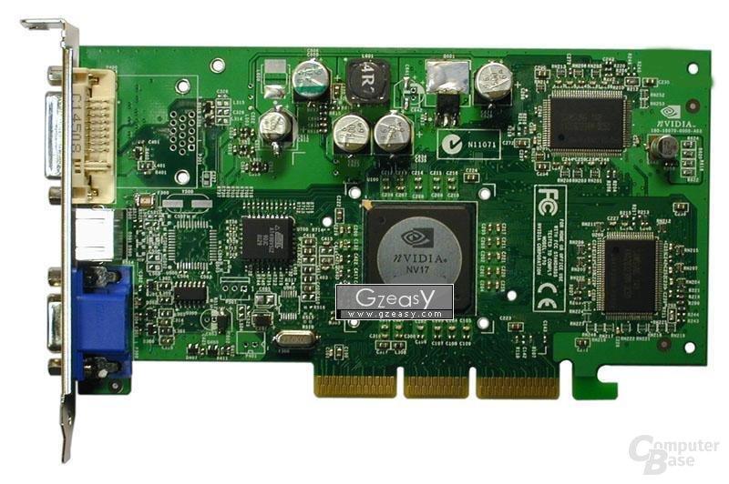 GeForce4 MX440 Vorderseite
