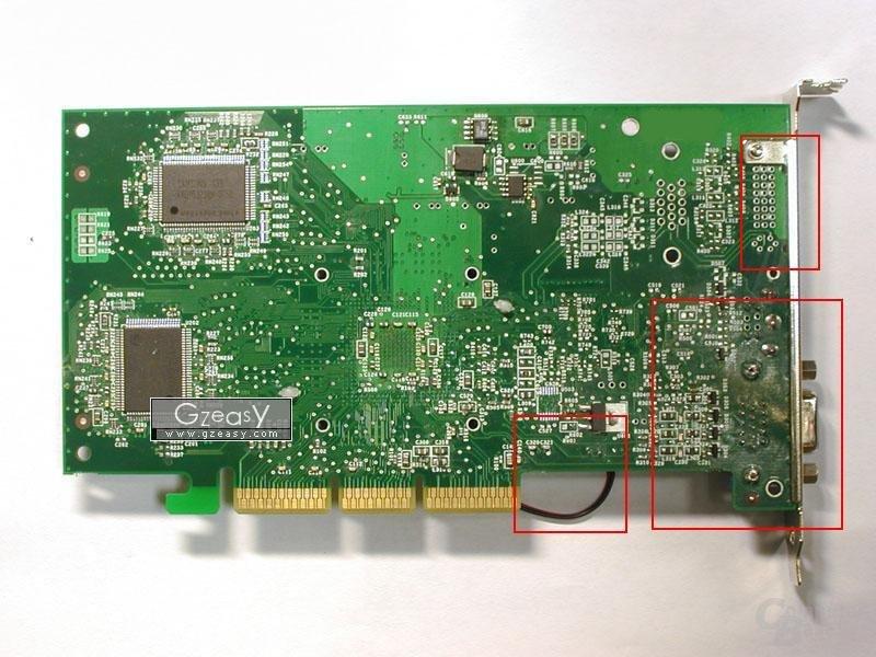 GeForce4 MX440 Rückseite
