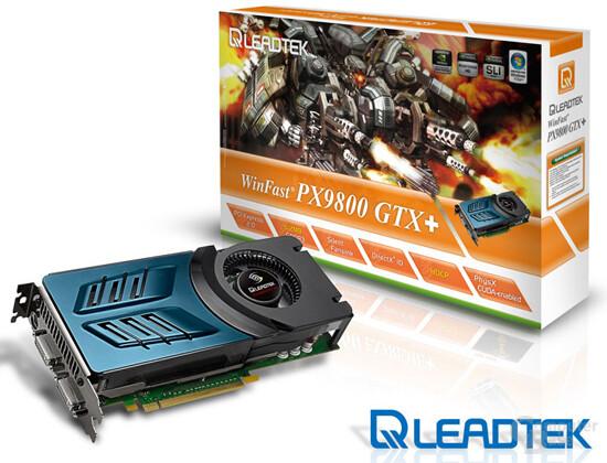 WinFast PX9800 GTX+ Leadtek Limited