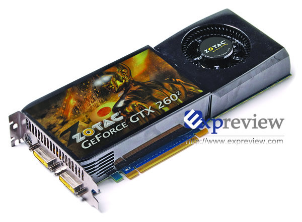 GeForce GTX 260 mit 55-nm-GPU