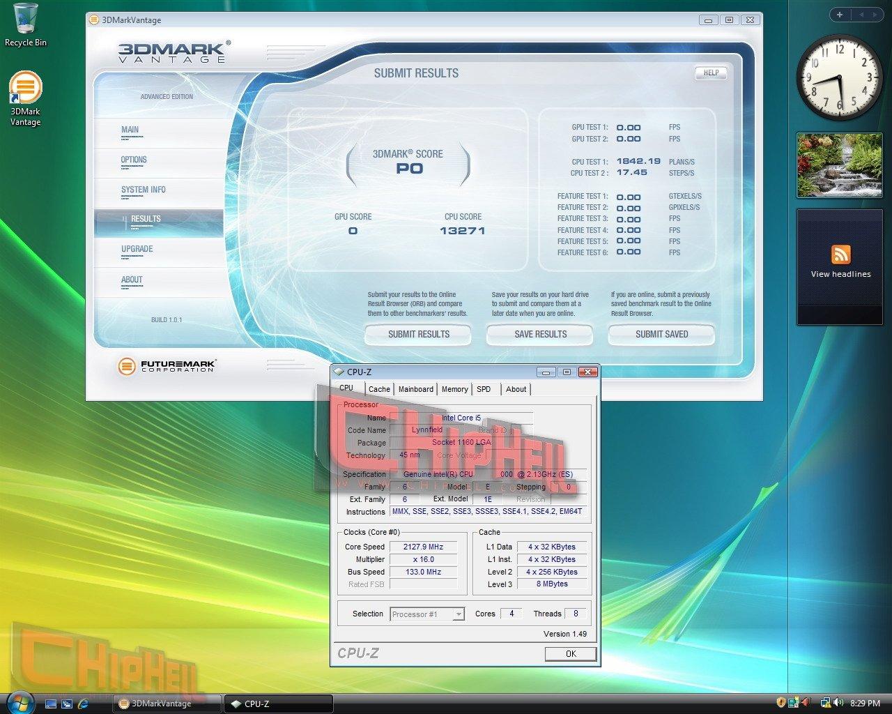 Intel Core i5 Lynnfield