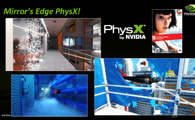 Nvidia PhysX in Mirror's Edge