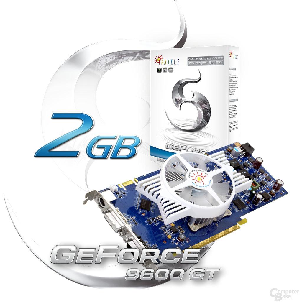 Sparkle GeForce 9600 GT 2GB