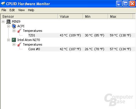 HW Monitor Mini 9