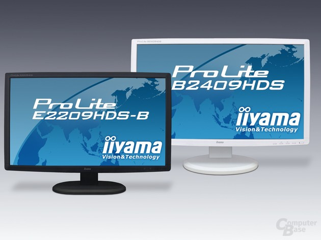 iiyama ProLite B2409HDS und ProLite E2209HDS