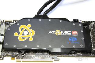 HD 4870 X2 Atomic Wasserkühler