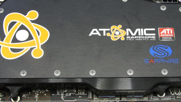 AMD Dual-GPU mit Wakü: Sapphire Radeon HD 4870 X2 Atomic im Test