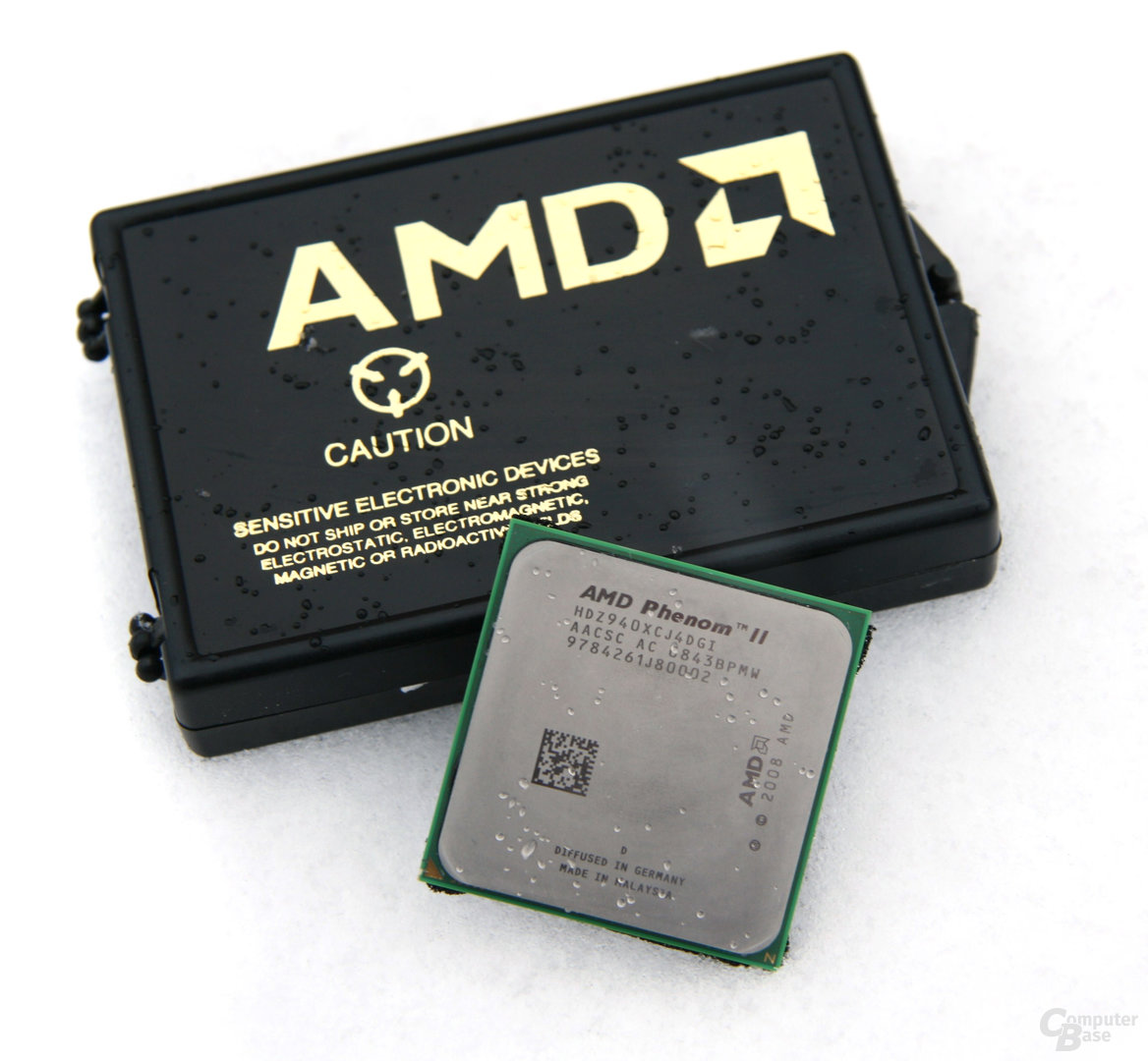 Spuren im Schnee: AMD Phenom II X4 940 Black Edition