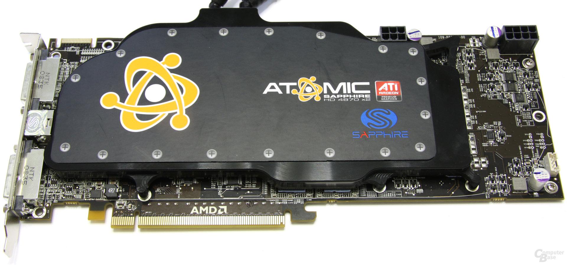 Sapphire Radeon HD 4870 X2 Atomic