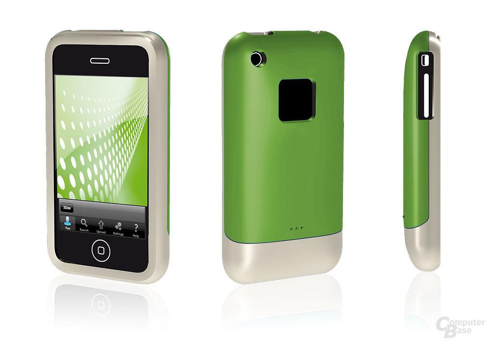 Wazabee 3DeeShell für Apples iPhone