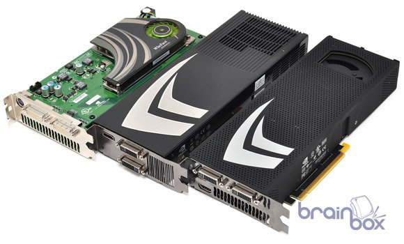 Nvidia GeForce GTX 295 vs. 9800GX vs. 7950GX2
