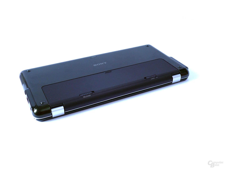 Unterseite des Sony Vaio P