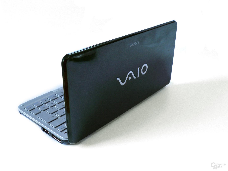 Rückseite des Sony Vaio P