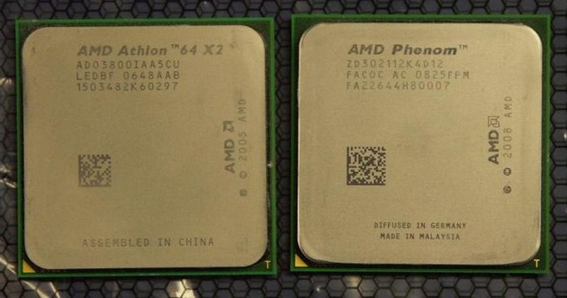 AMD Phenom II X4 945 vs. AMD Athlon
