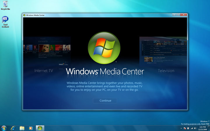 Windows 7 Beta Build 7000