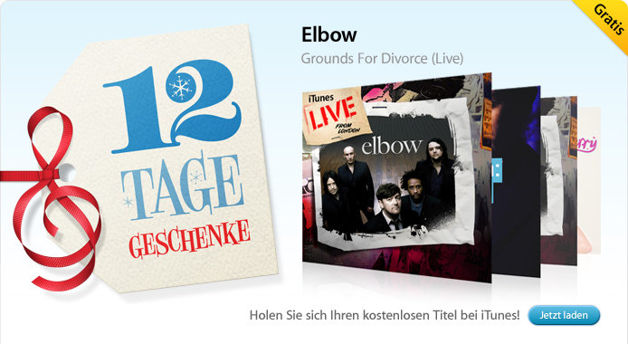 04.01. Elbow: Grounds for Divorce (Live-Song)