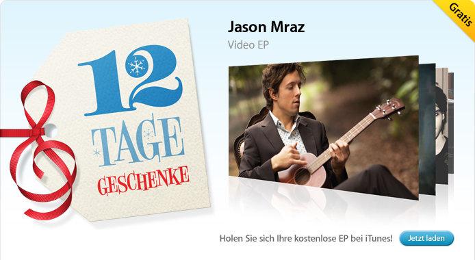 29.12. Jason Mraz: Video EP (Musikvideos)