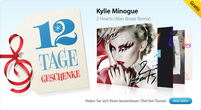 31.12. Kylie Minogue: 2 Hearts (Song)
