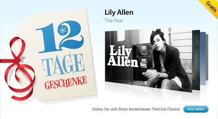 01.01. Lily Allen: The Fear (Song)