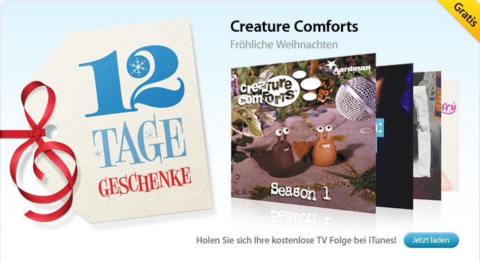 02.01. Creature Comforts: Fröhliche Weihnachten (TV-Episode)