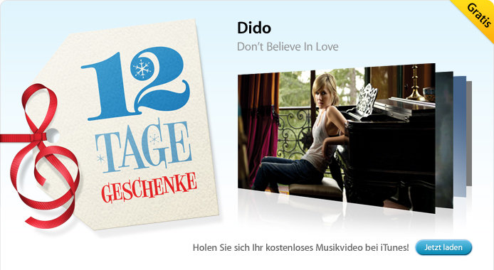 03.01. Dido: Don't Belive in Love (Musikvideo)