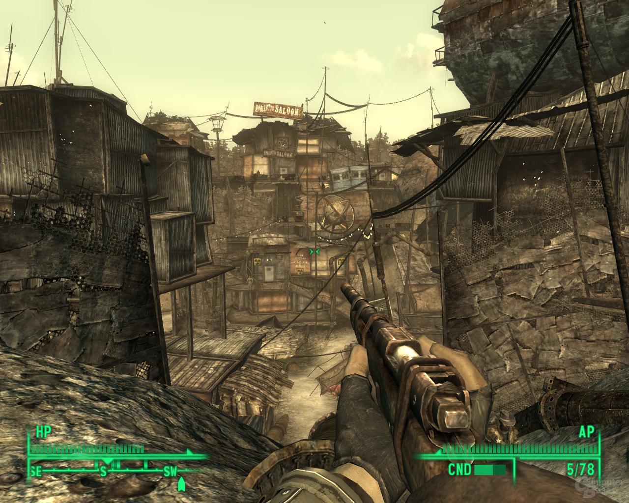 Fallout 3 – Nvidia 8xAA (CSAA)